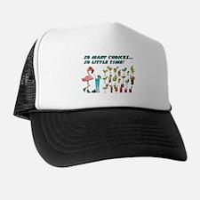 Flamingo Happy Hour Trucker Hat
