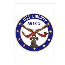 USS Liberty (AGTR 5) Postcards (Package of 8)