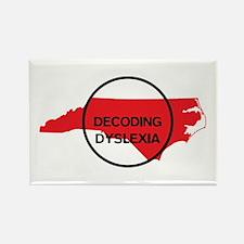 Decoding Dyslexia NC Magnets