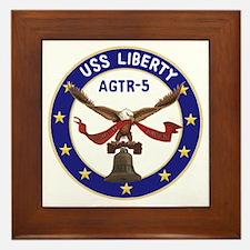 USS Liberty (AGTR 5) Framed Tile