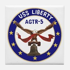 USS Liberty (AGTR 5) Tile Coaster