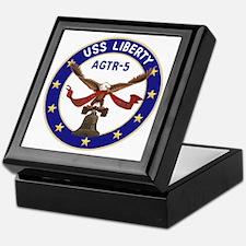 USS Liberty (AGTR 5) Keepsake Box