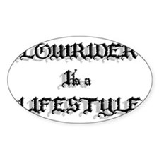 Lowrider It's a Lifestyle Decal