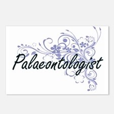 Palaeontologist Artistic Postcards (Package of 8)