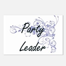 Party Leader Artistic Job Postcards (Package of 8)
