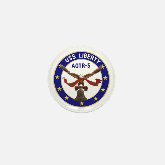 USS Liberty (AGTR 5) Mini Button