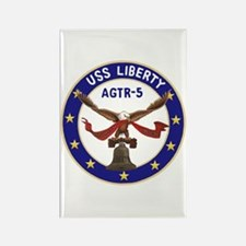 USS Liberty (AGTR 5) Rectangle Magnet