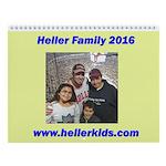 Heller 2016 Wall Calendar