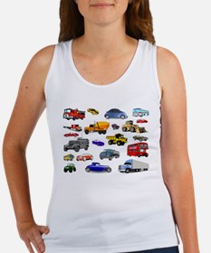 Cars and Trucks Tank Top
