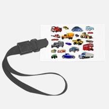 Cars and Trucks Luggage Tag