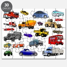 Cars and Trucks Puzzle