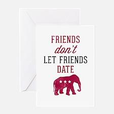 FDLFD Republicans Greeting Card