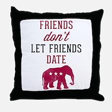 FDLFD Republicans Throw Pillow