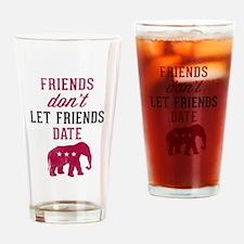 FDLFD Republicans Drinking Glass