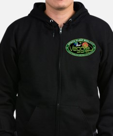 NASA's Veggie Program Logo Zip Hoodie