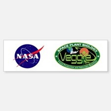 NASA's Veggie Program Logo Bumper Bumper Sticker