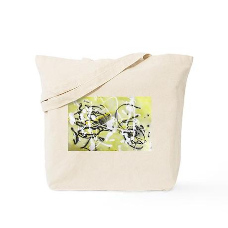 Yellow Splat Tote Bag