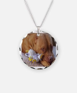 Funny Pit bull love Necklace