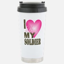 I love my soldier Stainless Steel Travel Mug
