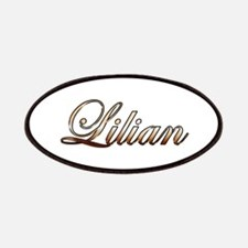 Gold Lilian Patch