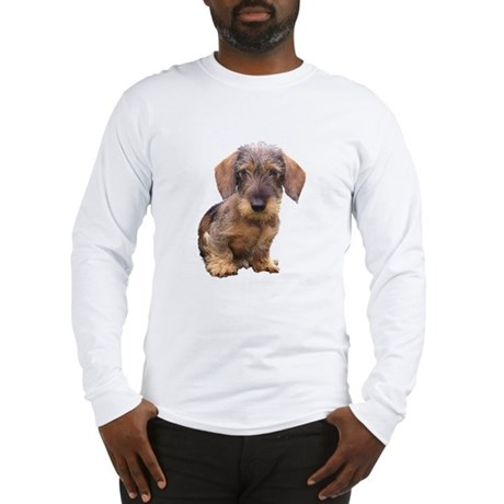 Wire Haired Red Dachshund Long Sleeve T-Shirt