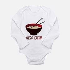 Cute Asian food Long Sleeve Infant Bodysuit