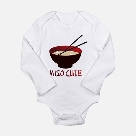 Cute Funny samurai Long Sleeve Infant Bodysuit