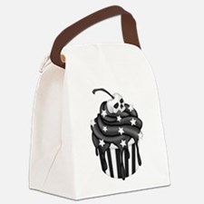 Cadaver Cupcake w/ Stripes, Skull & Stars Canvas L