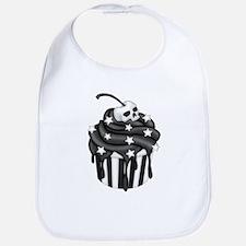 Cadaver Cupcake w/ Stripes, Skull & Stars Bib