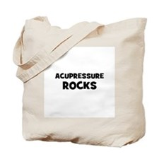 Acupressure Rocks Tote Bag