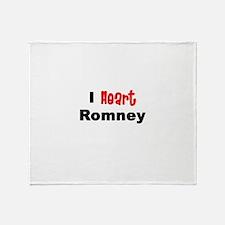 romney2.png Throw Blanket