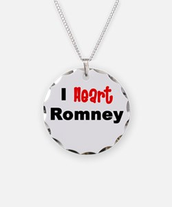 romney2.png Necklace Circle Charm