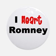 romney2.png Round Ornament