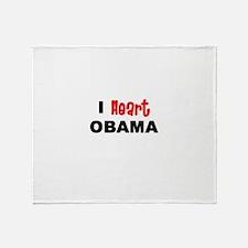 obama2.png Throw Blanket
