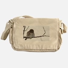 Northern Pygmy Owl- The Look Messenger Bag
