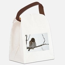 Northern Pygmy Owl- The Look Canvas Lunch Bag