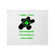 Halo copy.jpg Throw Blanket