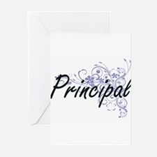 Principal Artistic Job Design with Greeting Cards