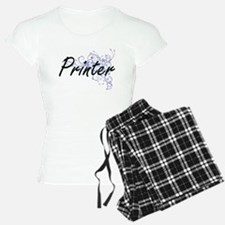 Printer Artistic Job Design Pajamas