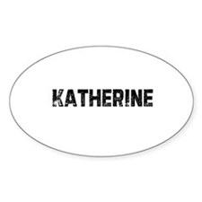 Katherine Oval Decal