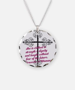 Proverbs 31 Clothed In Digni Necklace