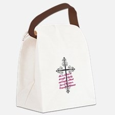 Proverbs 31 Clothed In Dignity Canvas Lunch Bag