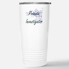 Private Investigator Ar Stainless Steel Travel Mug