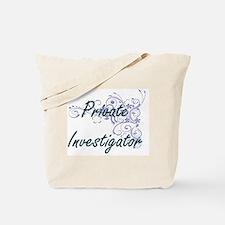 Private Investigator Artistic Job Design Tote Bag