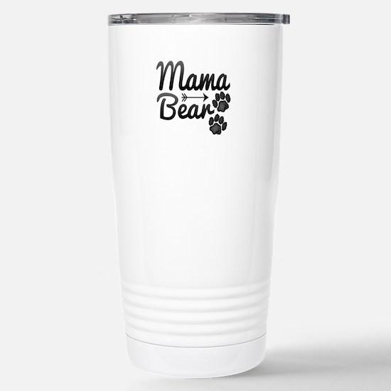 Mama Bear Stainless Steel Travel Mug