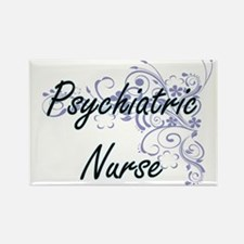Psychiatric Nurse Artistic Job Design with Magnets