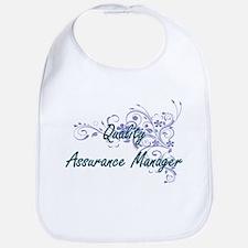 Quality Assurance Manager Artistic Job Design Bib