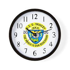 USS Yancey (AKA 93) Wall Clock