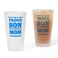 Cool Mom and son Drinking Glass