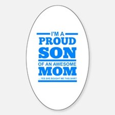 Cute Son Sticker (Oval)
